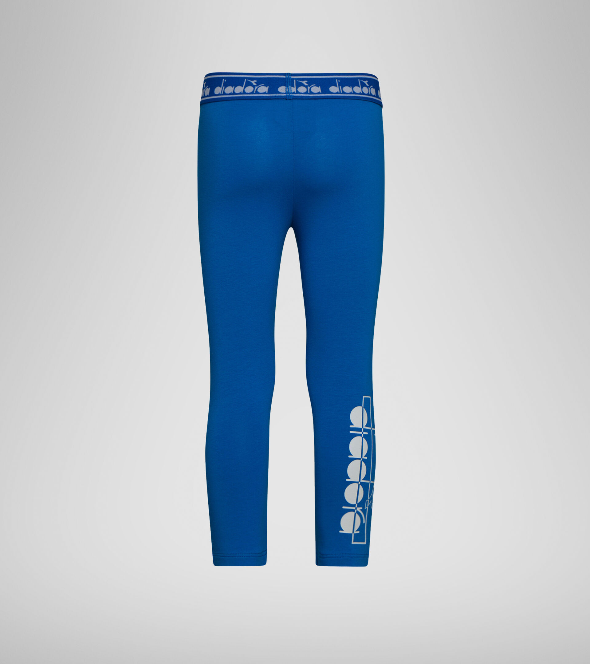 Apparel Sport BAMBINO JG. LEGGINGS LOGO MANIA MICRO BLUE Diadora