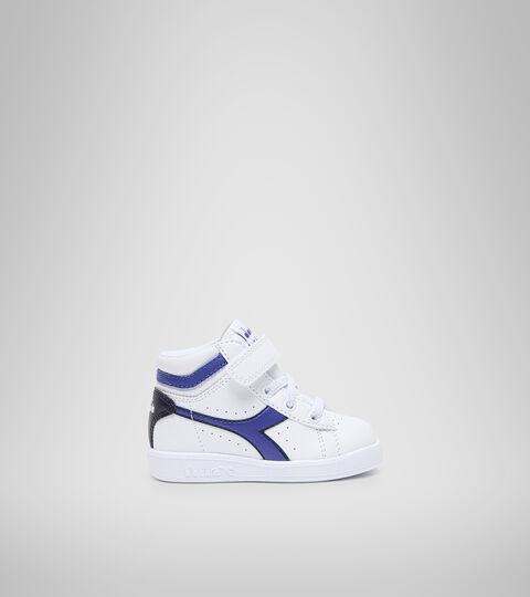 Footwear Sport BAMBINO GAME P HIGH TD WHITE/PEACOAT Diadora