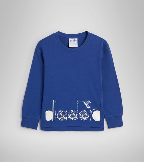 T-shirt à manches longues - Garçon JG.T-SHIRT LS TWINKLE BLEU  CREPUSCULE - Diadora