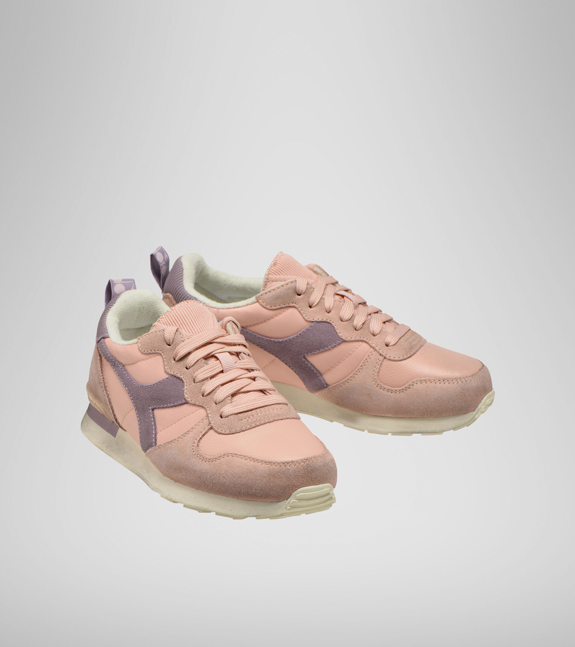 Footwear Sportswear DONNA CAMARO ICONA WN ROSA SABBIA/VIOLA NIRVANA Diadora