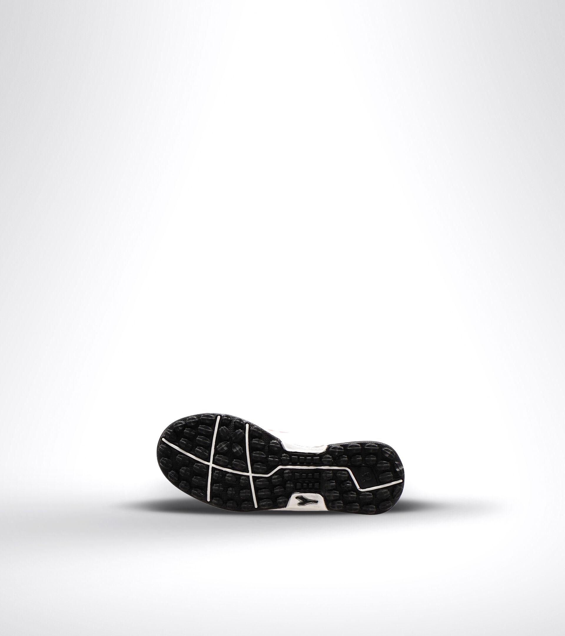 Fußballschuh für harte Böden oder Kunstrasen - Unisex Kind PICHICHI 3 TF JR VE BIANCO/NERO/ROSSO FLUO - Diadora