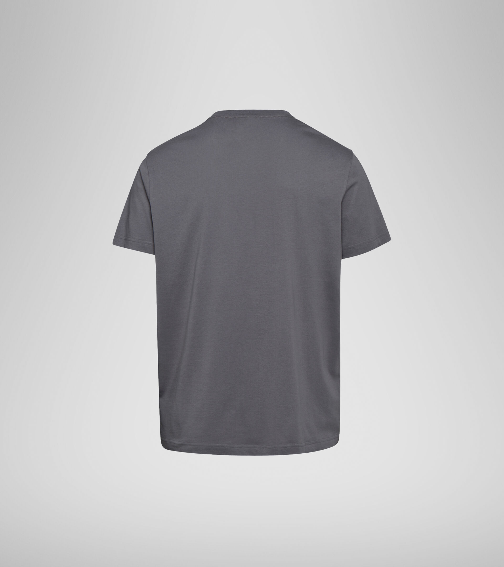 Camiseta - Hombre T-SHIRT SS FREGIO CLUB GRIS CARBON - Diadora