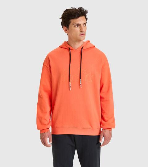 Apparel Sportswear UOMO HOODIE DIADORA HD ROSSO GIGLIO TIGRATO Diadora