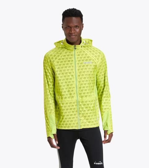 Isothermal running jacket - Men ISOTHERMAL JACKET BE ONE GREEN SPRING - Diadora
