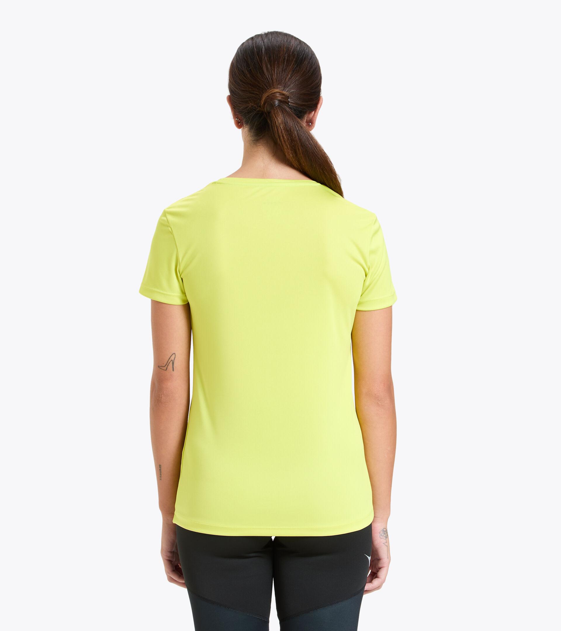 Camiseta para correr - Mujer L. SS CORE TEE MANANTIALES DE SULFURO - Diadora