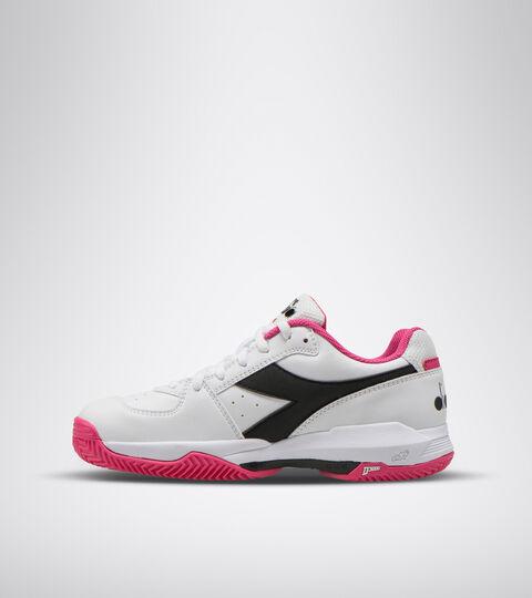 Footwear Sport DONNA S. CHALLENGE 3 W SL CLAY BLANCO/NEGRO/MAGENTA Diadora