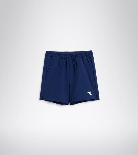 Tennis bermuda shorts - Junior J. SHORT COURT SALTIRE NAVY - Diadora