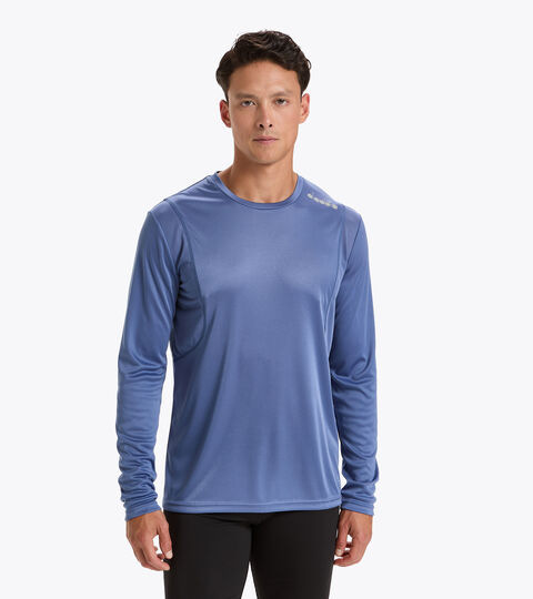 Running T-shirt - Men LS CORE TEE INFINITY - Diadora