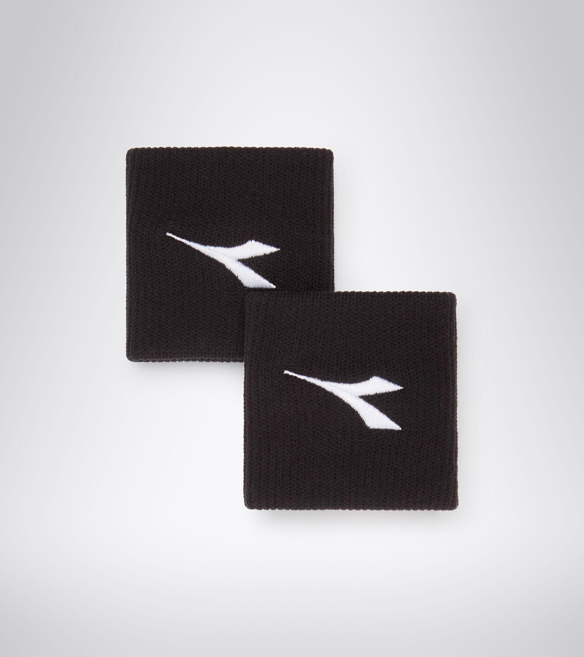 Muñequera para el sudor - Unisex WRISTBANDS BLACK/OPTICAL WHITE - Diadora