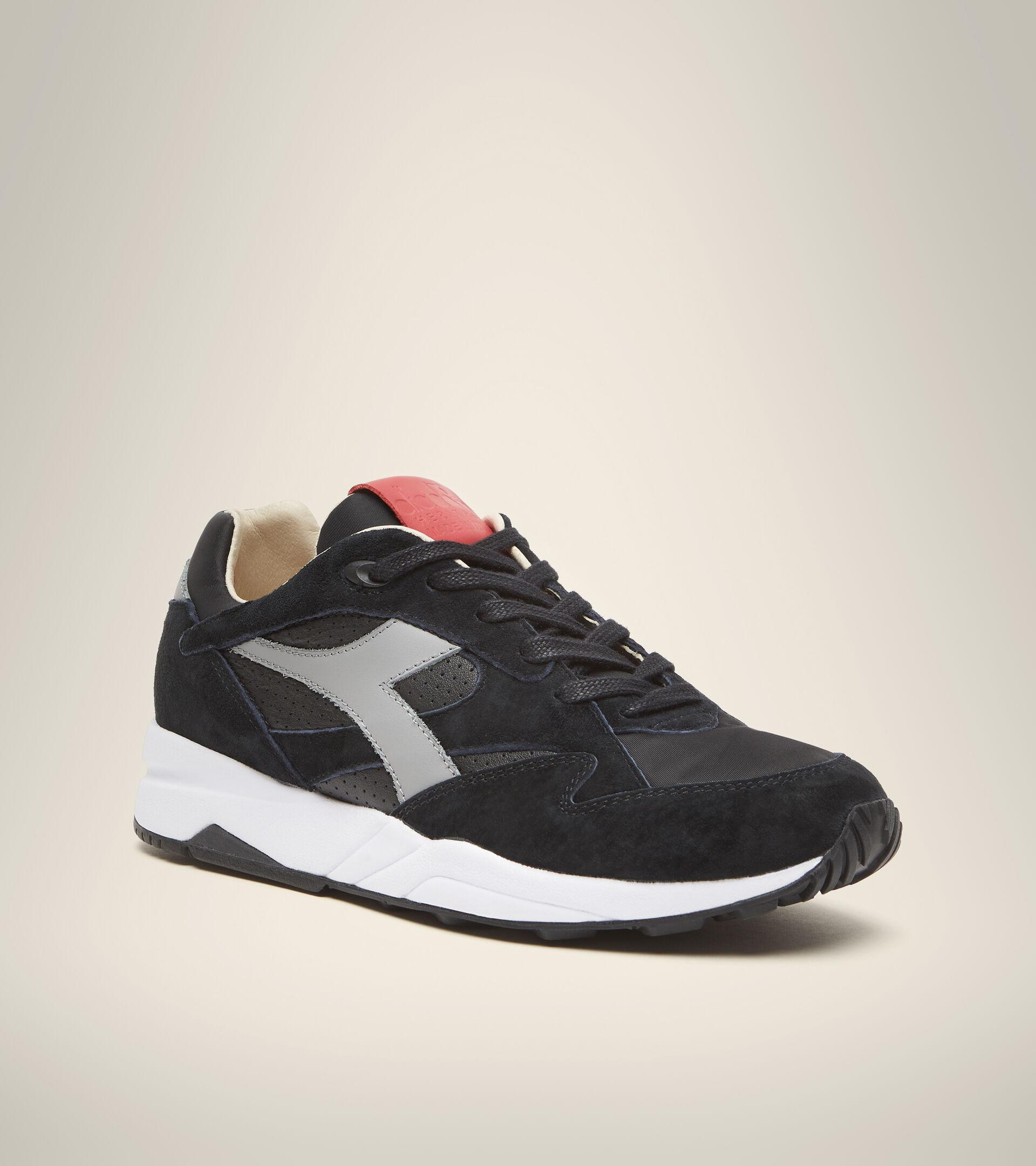 Made in Italy Heritage shoe - Men ECLIPSE ITALIA BLACK - Diadora