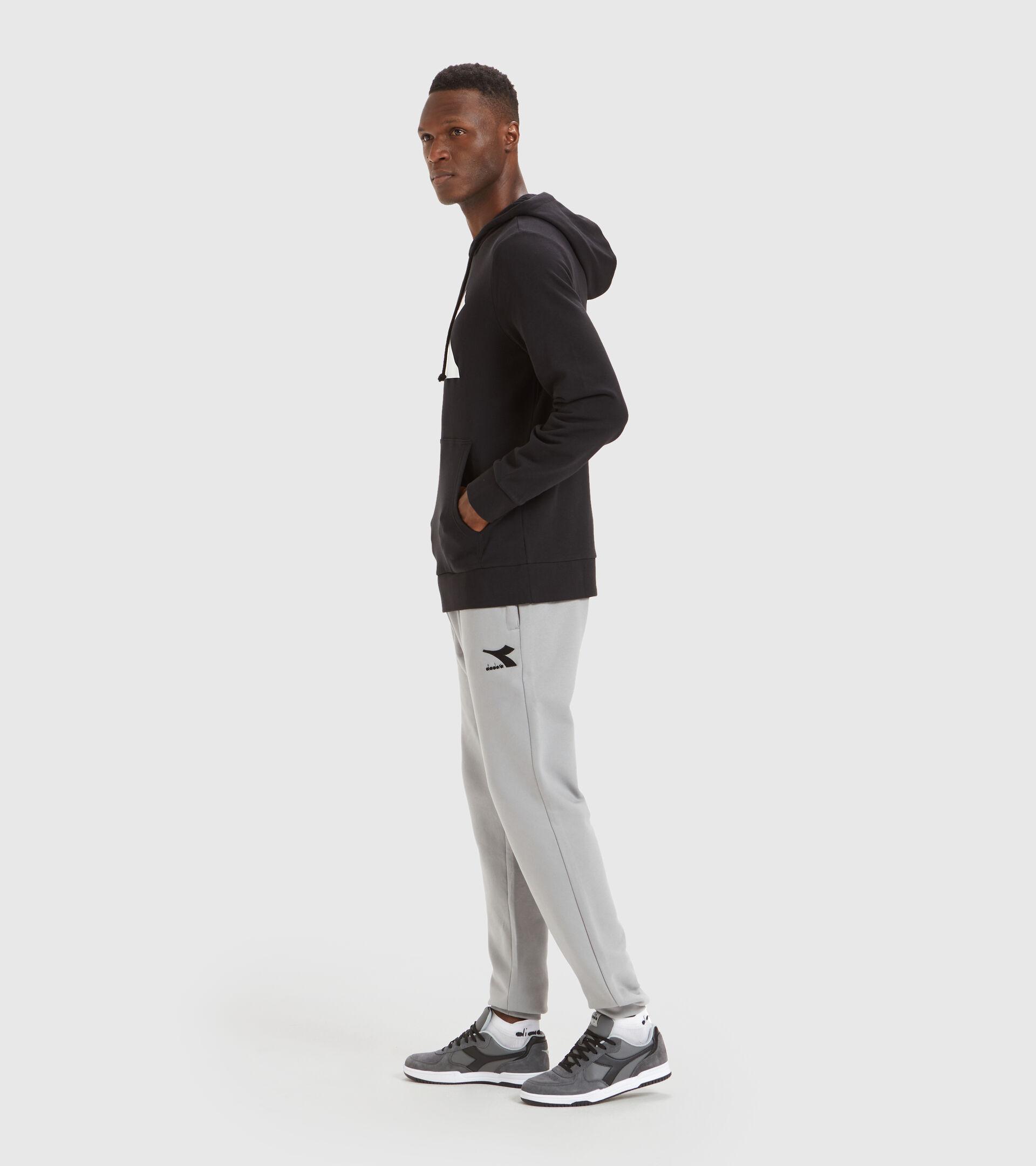 Hooded sweatshirt - Men HOODIE BIG LOGO BLACK - Diadora