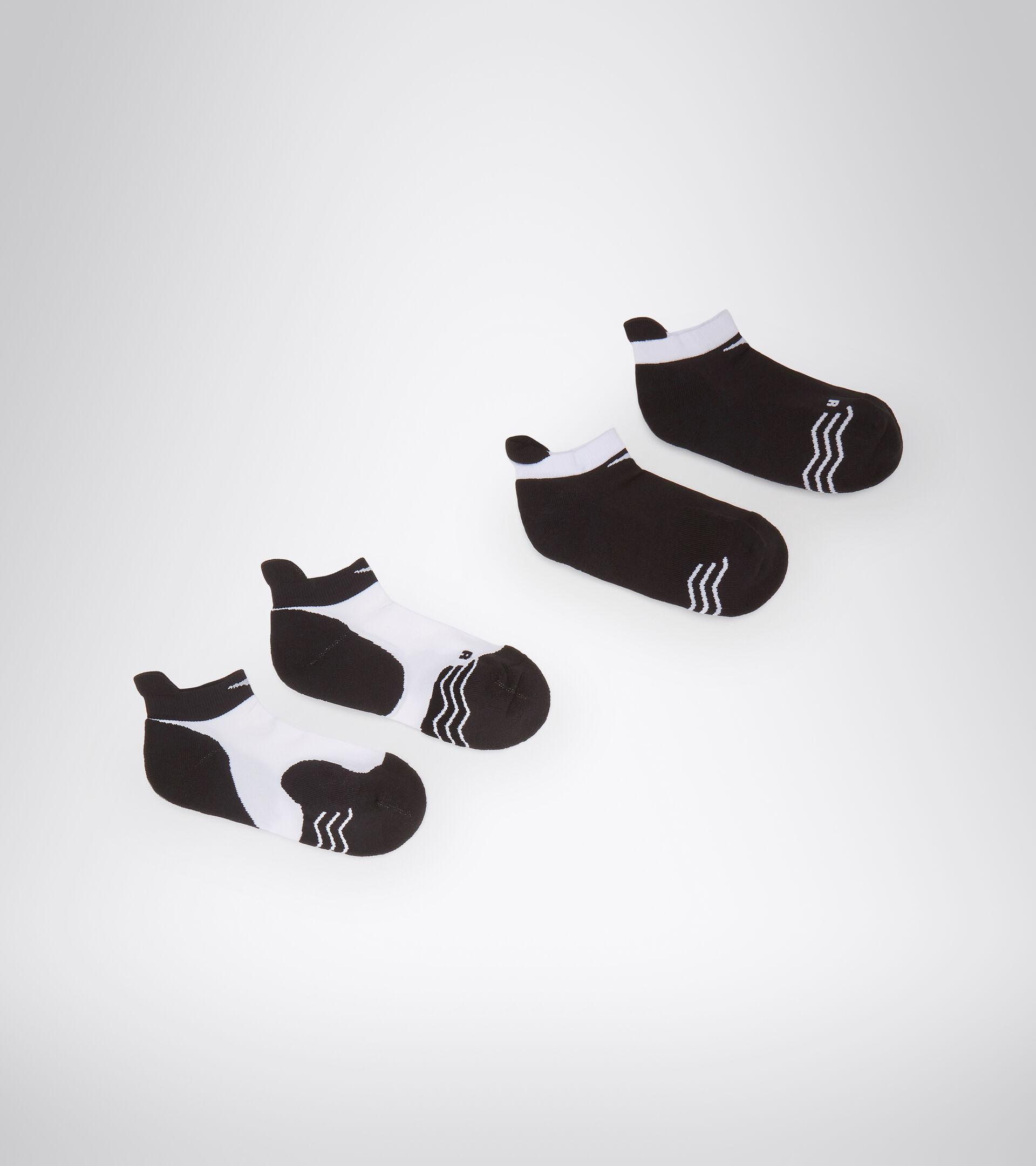 Accessories Sport DONNA L. SOCKS OPTICAL WHITE/BLACK Diadora