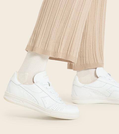 Footwear Heritage UNISEX B.ELITE H ITALIA SPORT WHITE /WHITE Diadora