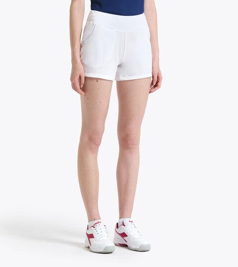 Tennis Shorts - Women L. SHORT COURT OPTICAL WHITE - Diadora