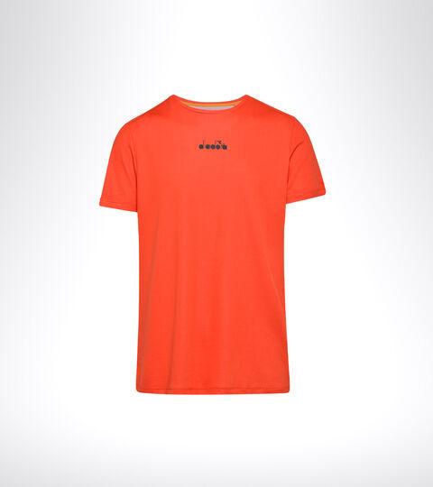 Tennis T-shirt - Men SS T-SHIRT EASY TENNIS FIESTA RED - Diadora
