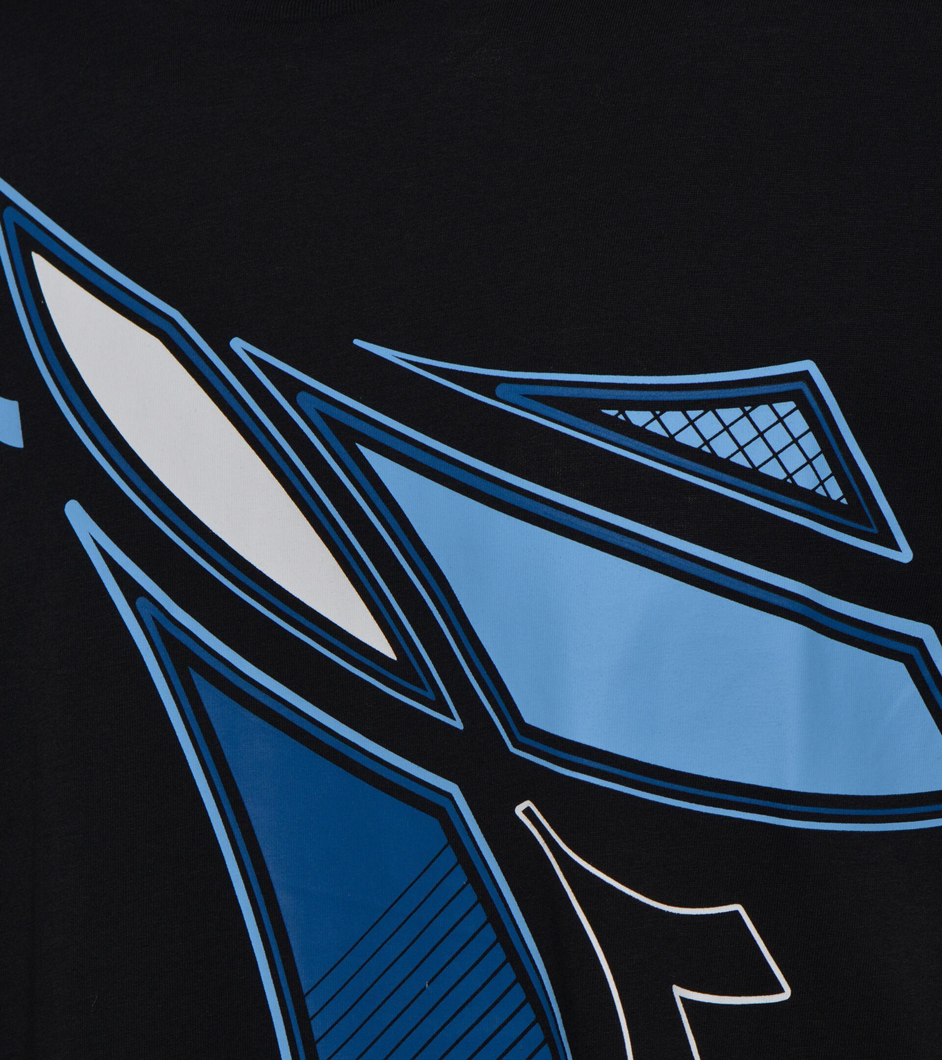 Camiseta - Hombre T-SHIRT SS FREGIO CLUB NEGRO - Diadora
