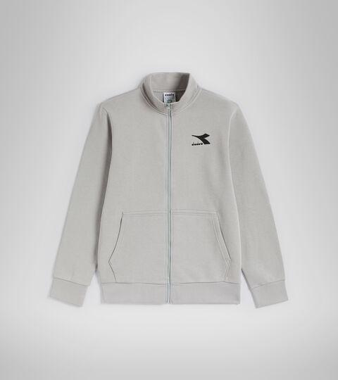Crew-neck sweatshirt - Men SWEAT FZ CORE GRAY MOUSE - Diadora