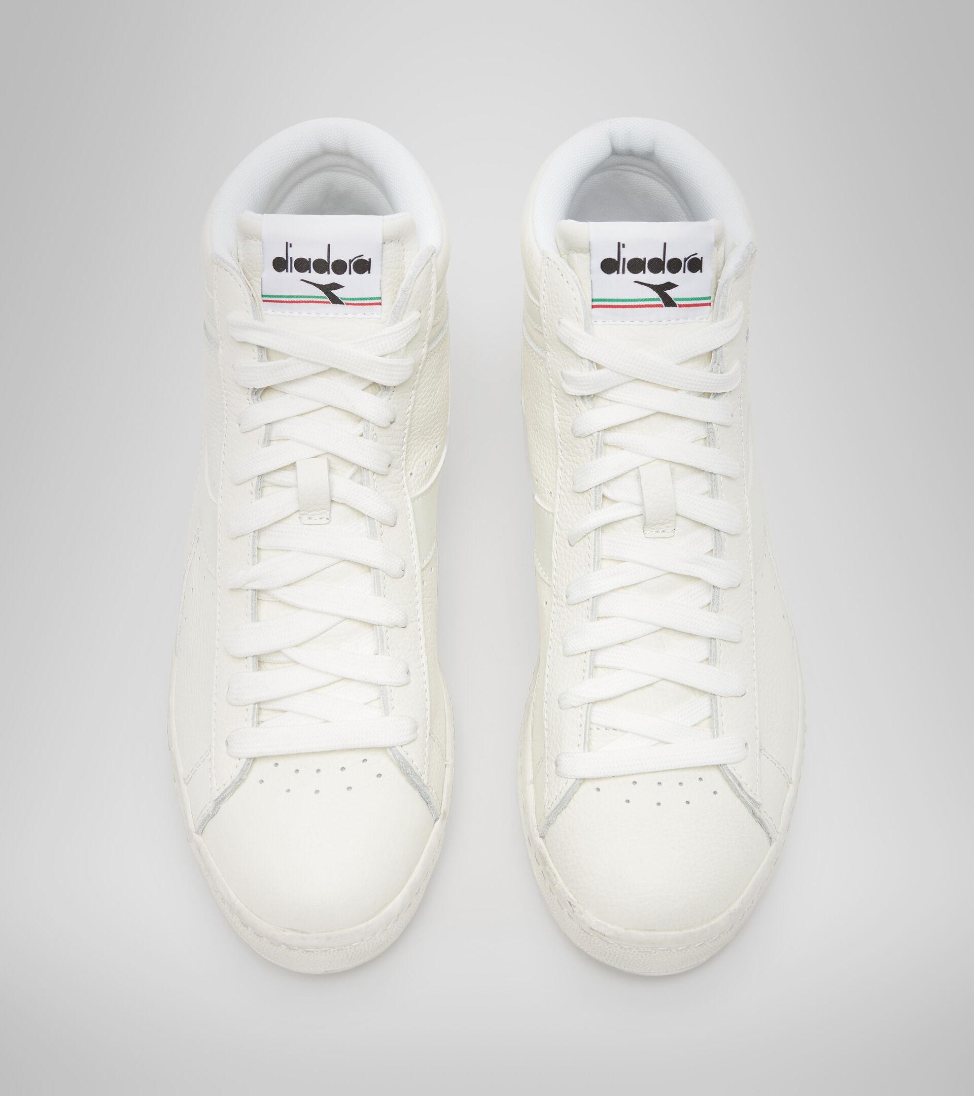 Footwear Sportswear UNISEX GAME L HIGH WAXED WHITE/WHITE/WHITE Diadora