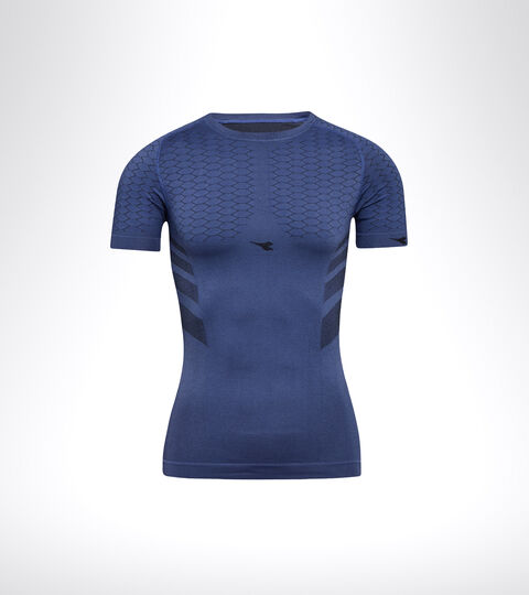 T-shirt d'entraînement à manches courtes - Homme SS T-SHIRT ACT BLEU INFINI - Diadora