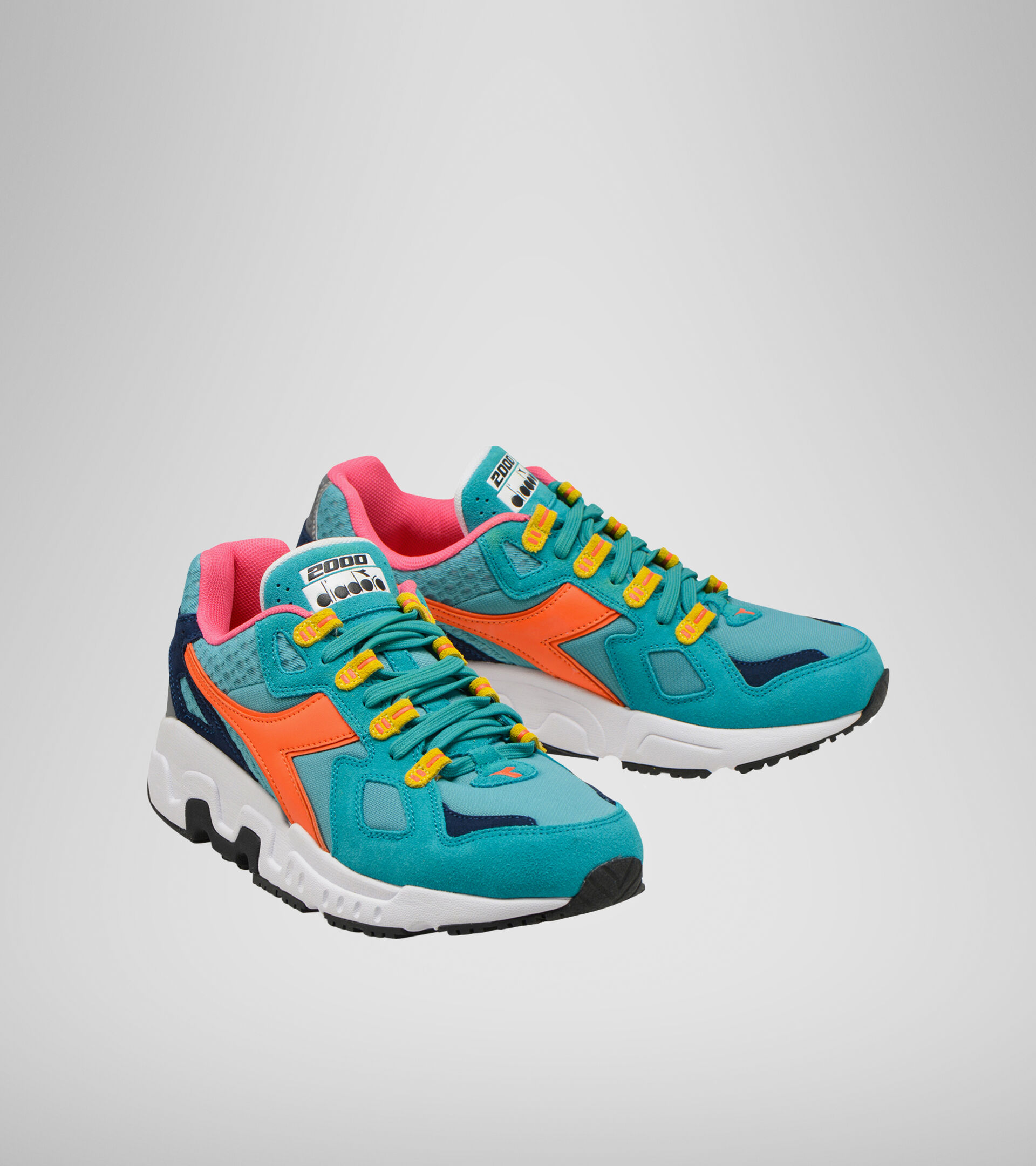 Footwear Sportswear UOMO MYTHOS OUTDOOR ACQUA GREEN Diadora