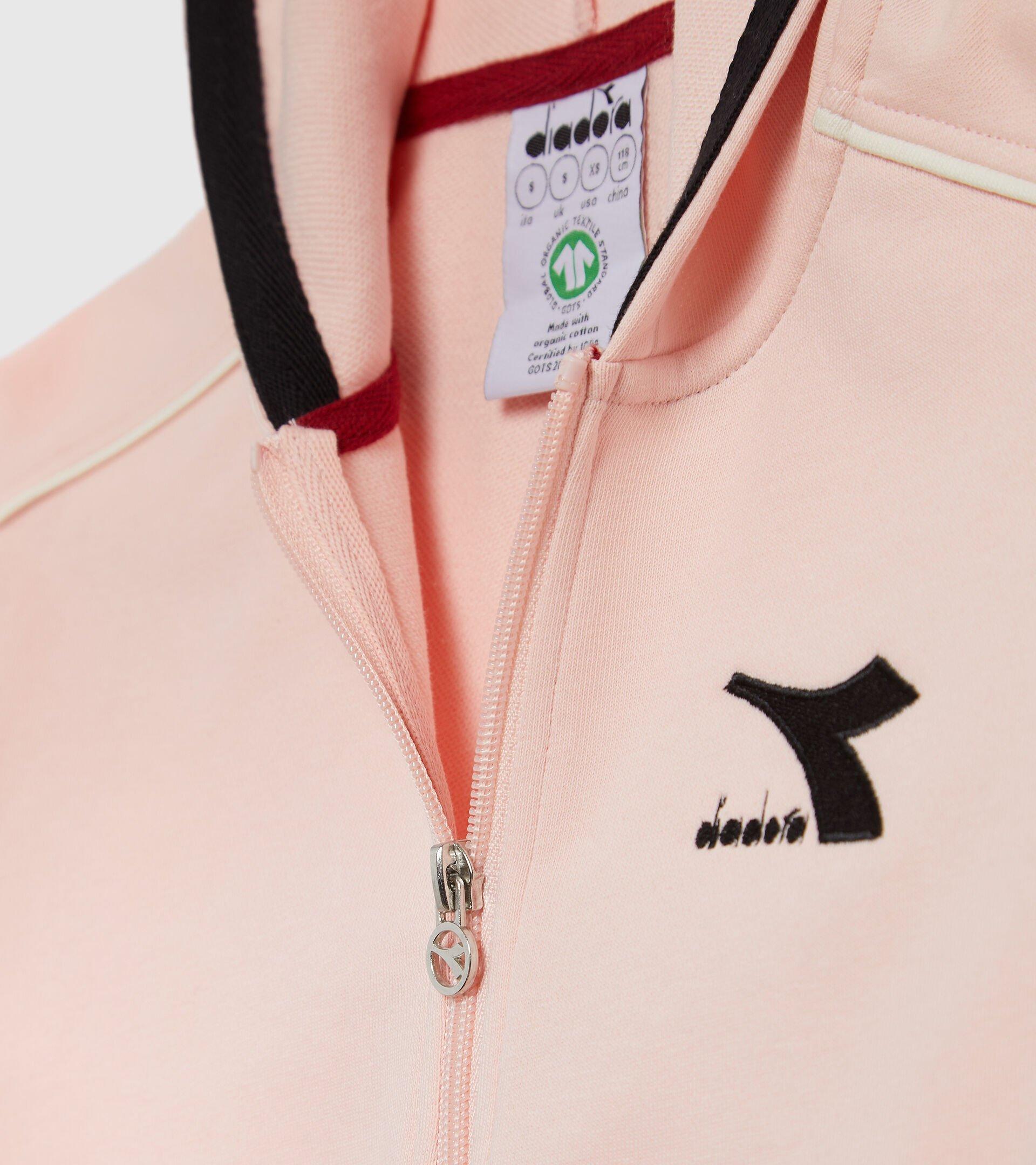 Apparel Sport BAMBINO JU.HD FZ TRACKSUIT CUBIC VEILED PINK Diadora