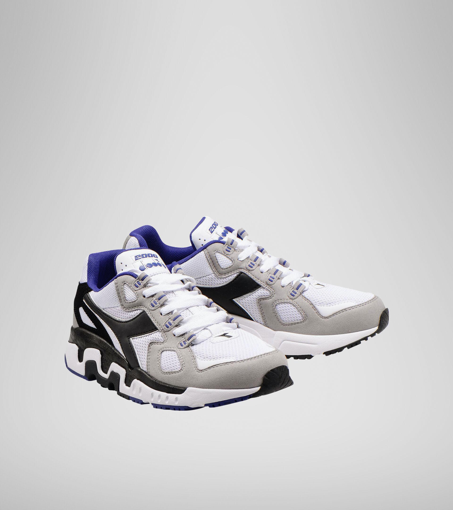 Zapatillas deportivas - Hombre MYTHOS SUEDE BLANCO/NEGRO/CENIZA - Diadora