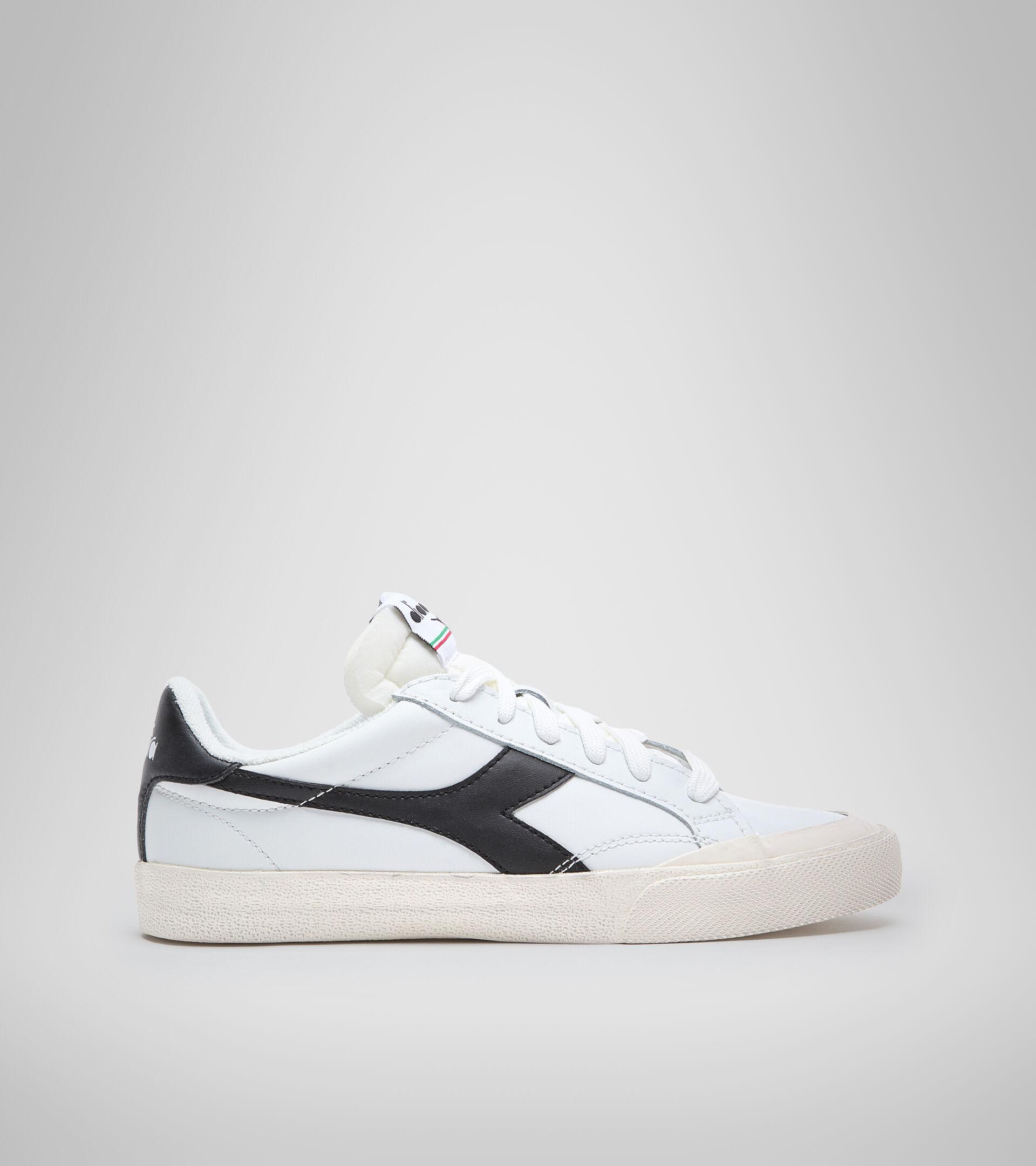 Sports shoe - Unisex MELODY LEATHER DIRTY WHITE/BLACK - Diadora