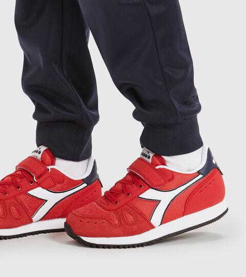 Chaussures de sport - Enfants 4-8 ans SIMPLE RUN PS ROUGE TOMATE - Diadora