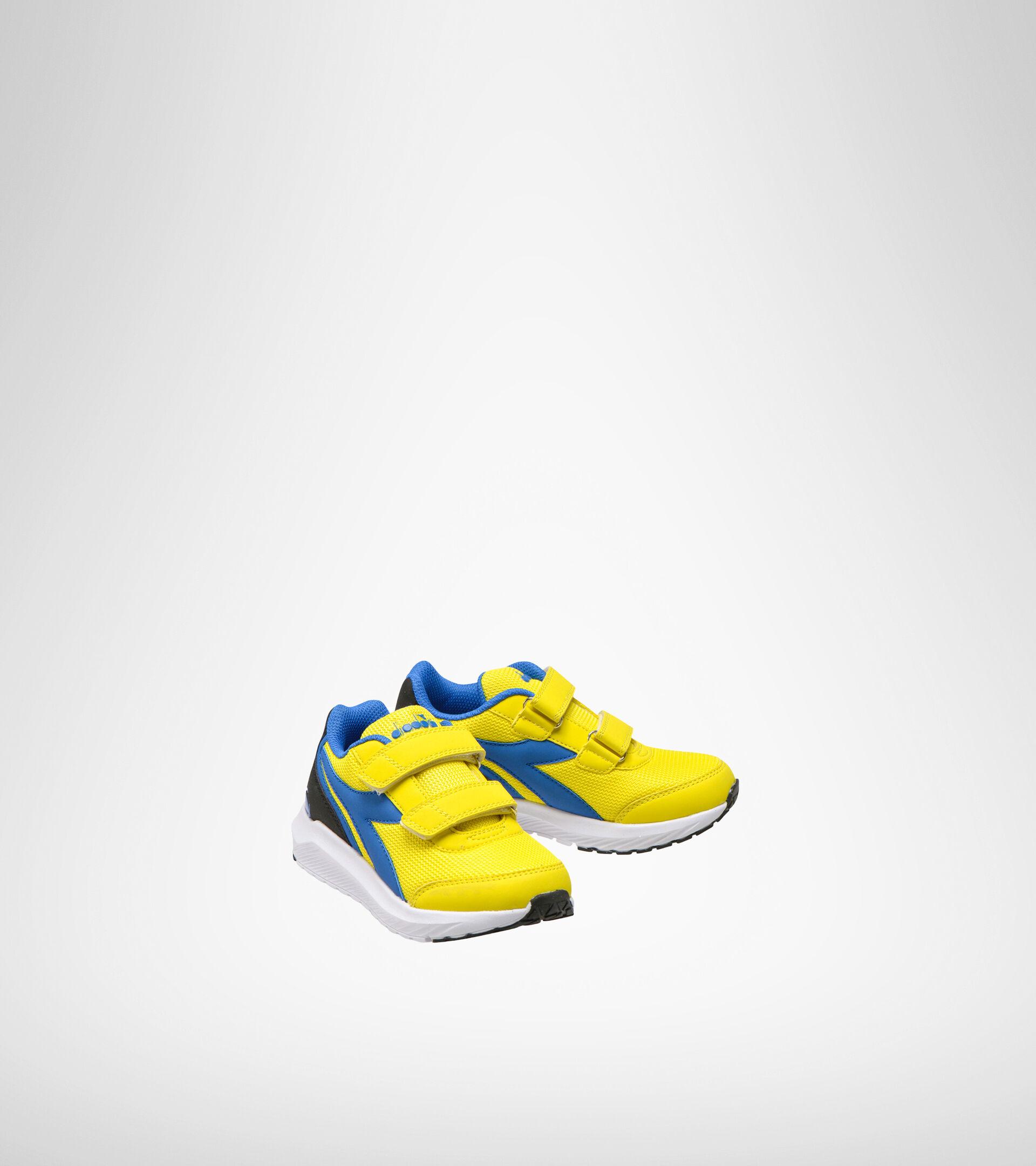 Zapatilla de running - Unisex niños FALCON JR V GIALLO/AZZURRO - Diadora