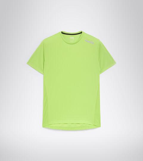 Running T-shirt - Men SS CORE TEE LIME GREEN - Diadora