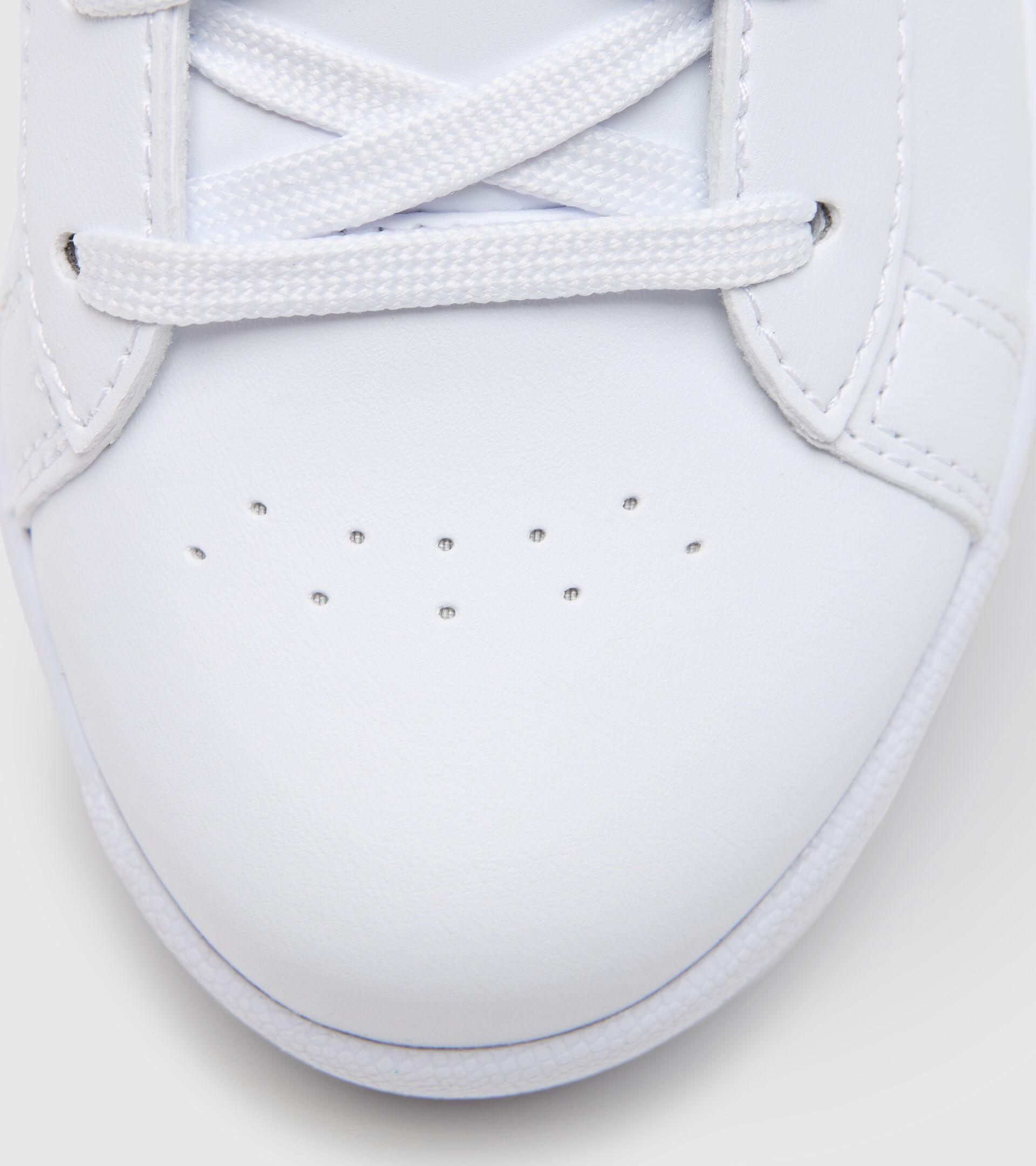Footwear Sport BAMBINO GAME P GS GIRL BIANCO/AZZURRO TURCHESE Diadora