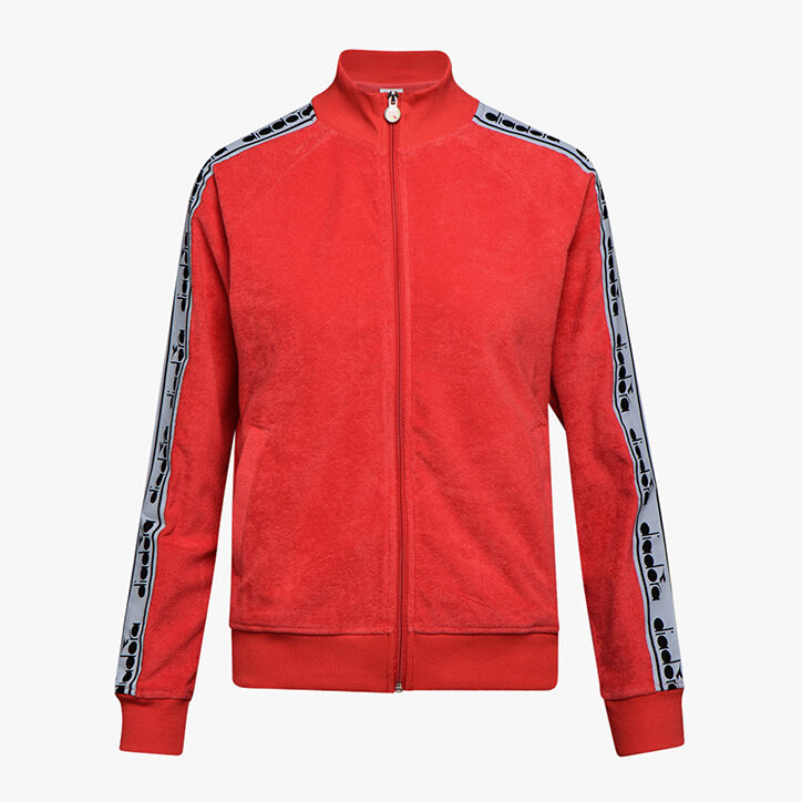 L. TRACK JACKET TROFEO, POPPY RED, large