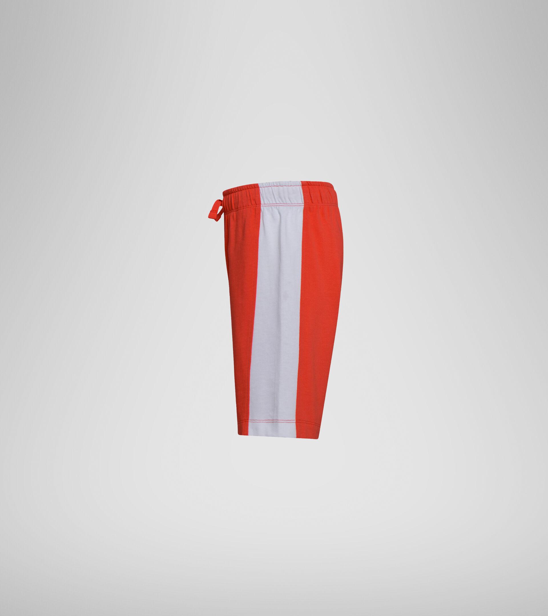 Apparel Sport BAMBINO JB. BERMUDA DIADORA CLUB POPPY RED Diadora
