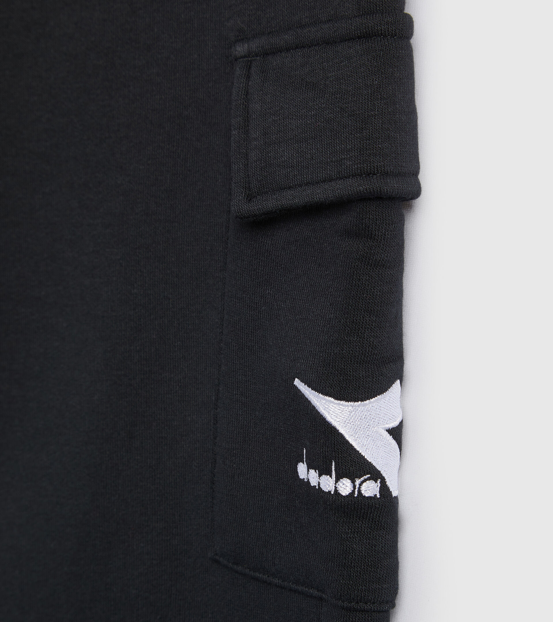 Pantalones deportivos - Niños JB.PANTS CUFF HOOPLA NEGRO - Diadora
