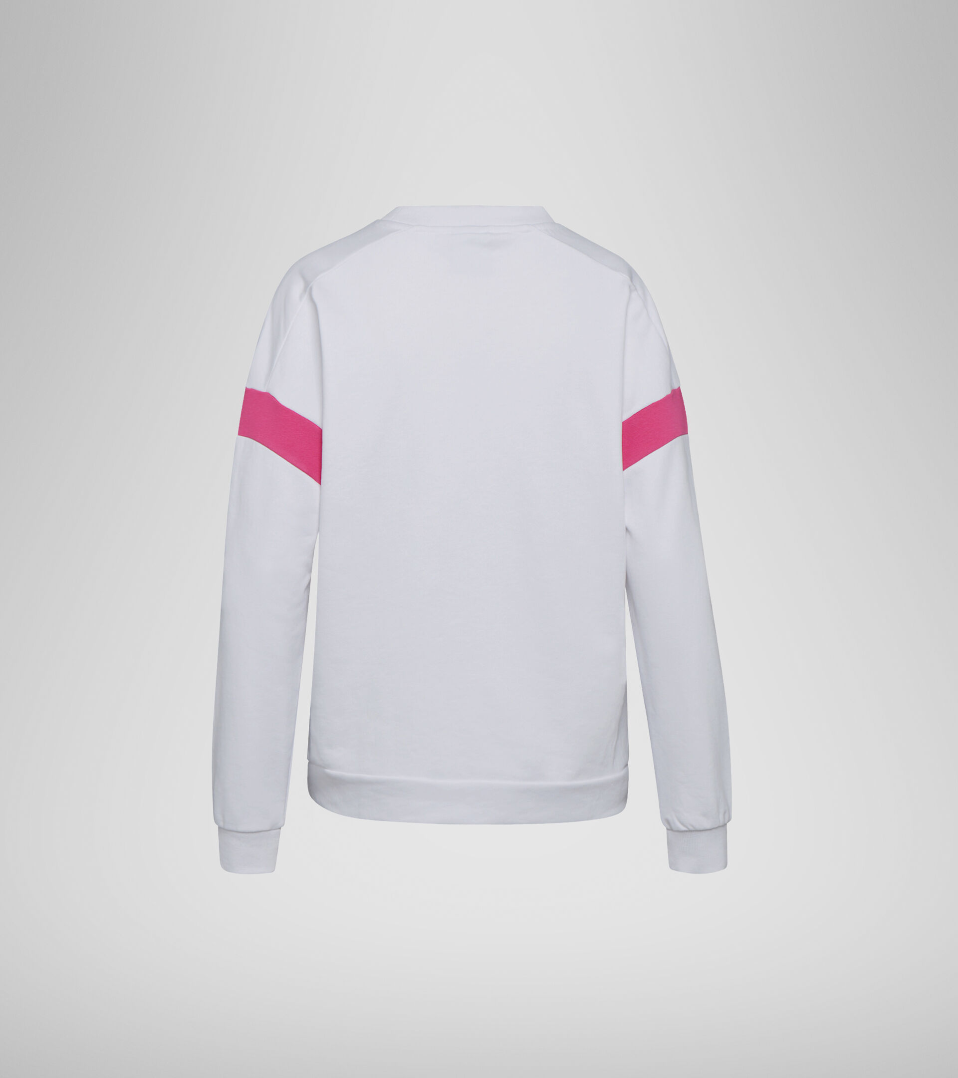 Apparel Sport DONNA L.SWEATSHIRT CREW SPOTLIGHT OPTICAL WHITE Diadora