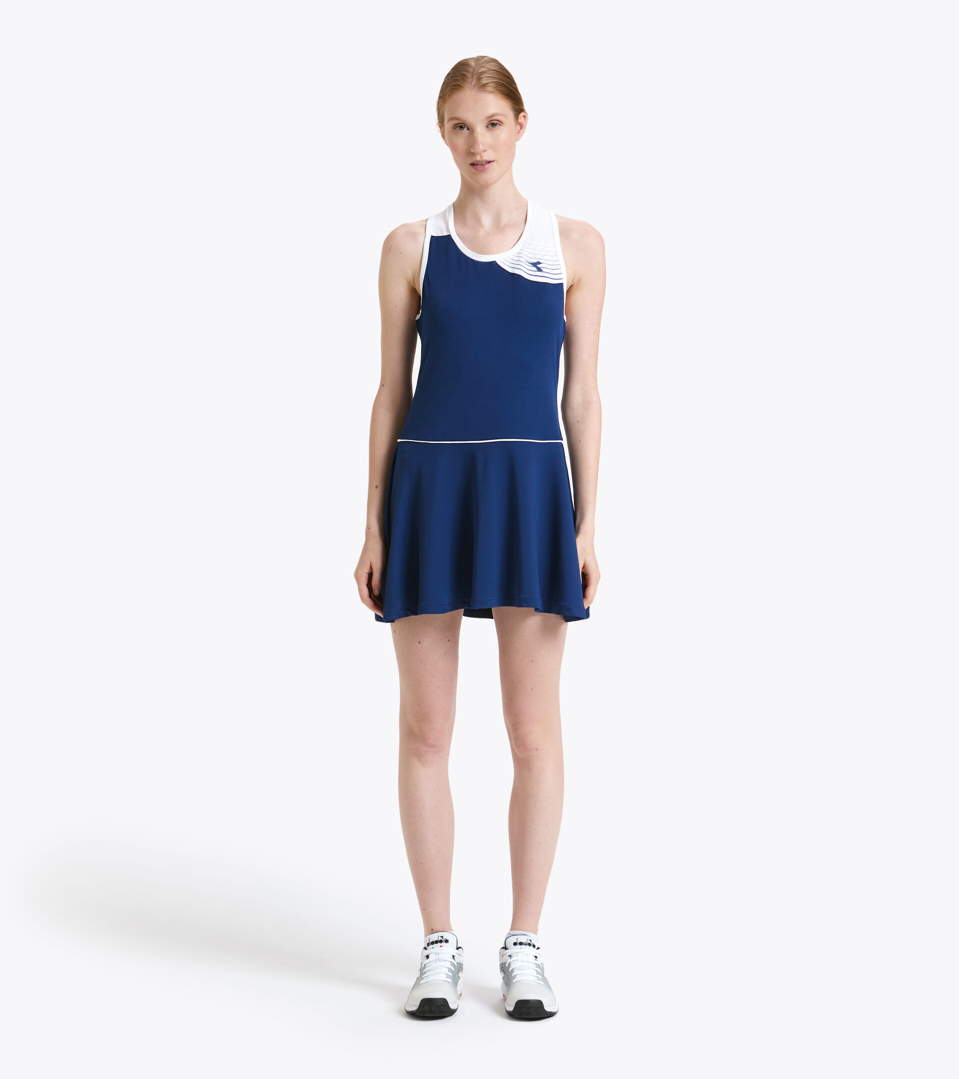 Abito da tennis - Donna L. DRESS COURT BLU ESTATE - Diadora