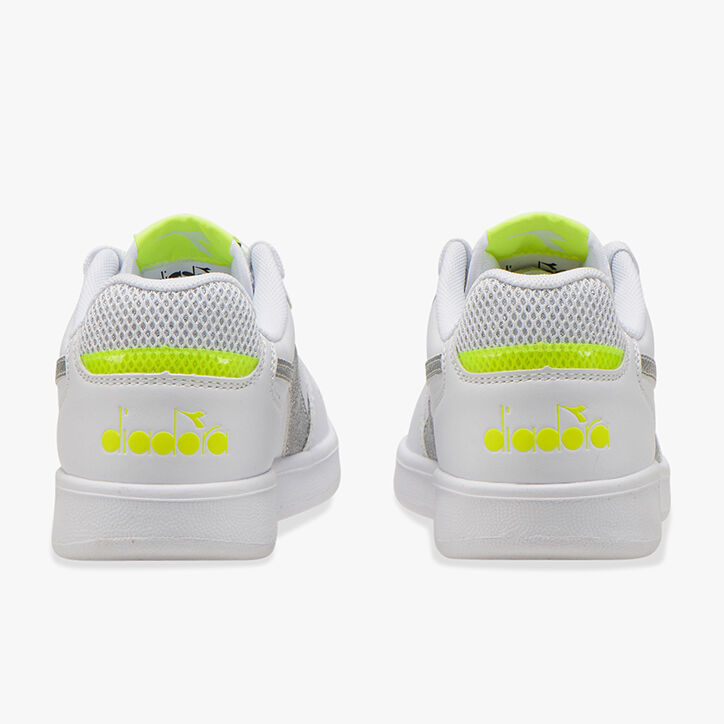 PLAYGROUND GS GIRL, WHITE/YELLOW FLUO., large