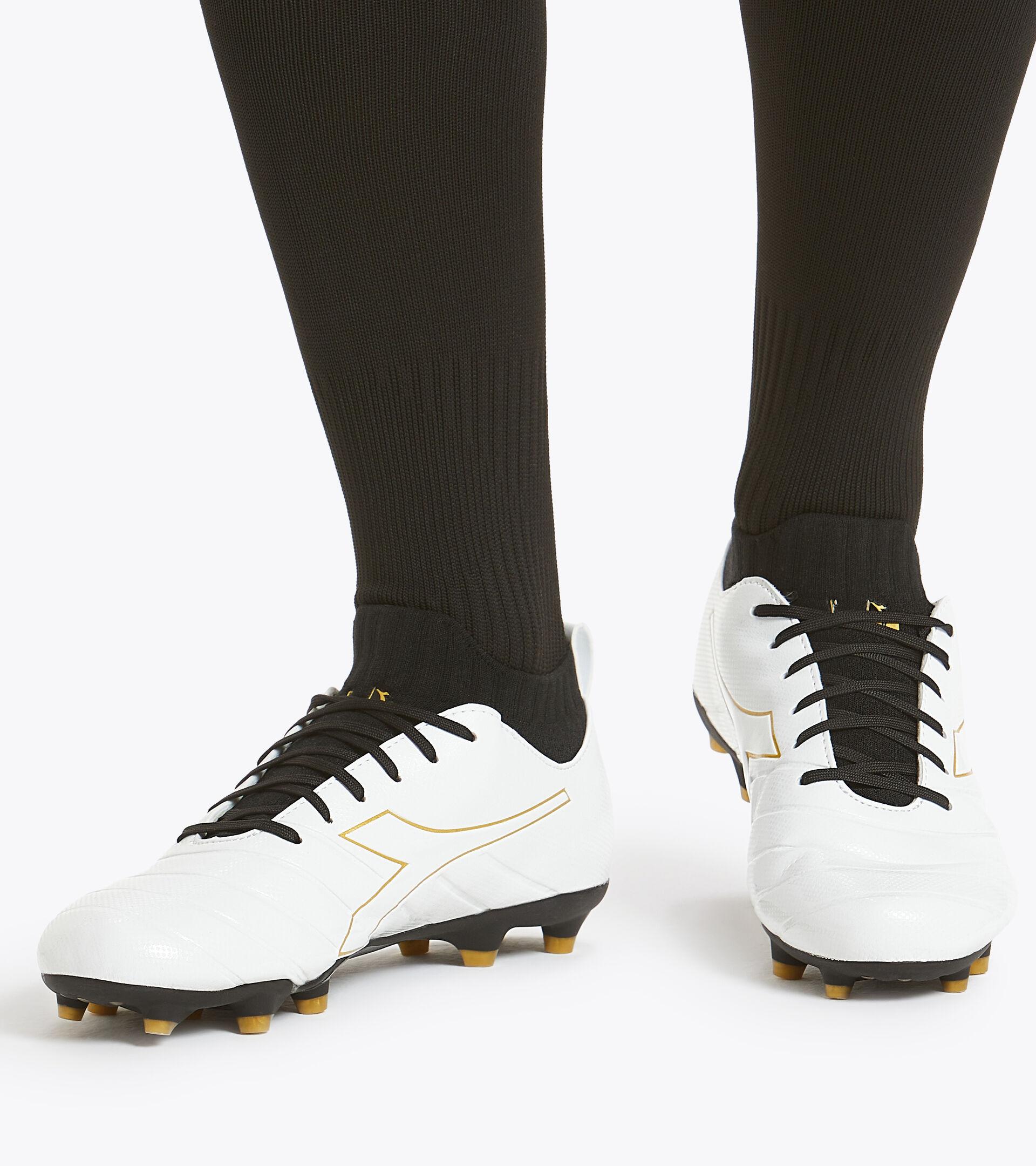 Footwear Sport UOMO BRASIL ELITE R LP12 BIANCO/ORO Diadora