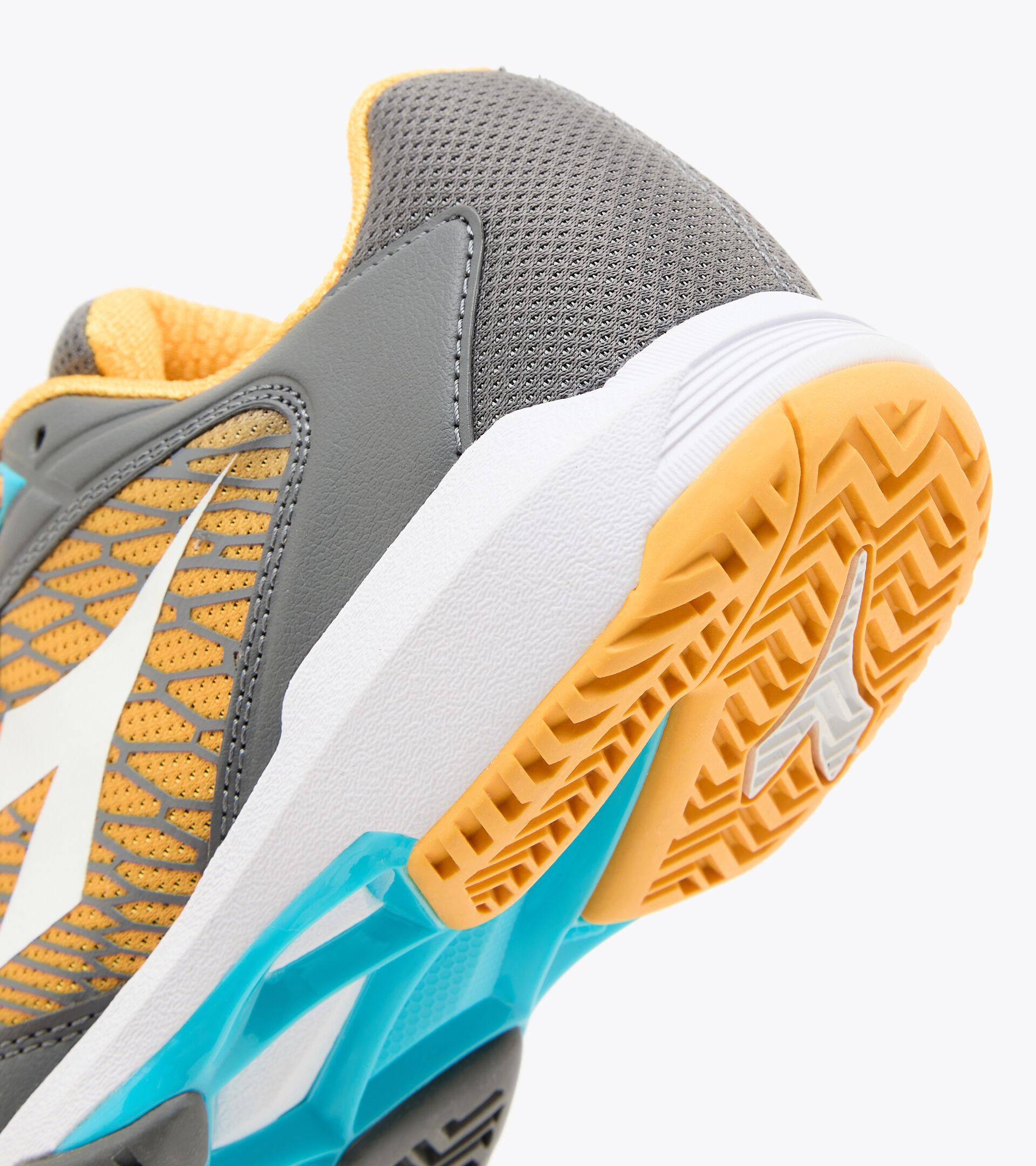 Footwear Sport BAMBINO SPEED COMPETITION 2+ Y QUIET SHADE/WHITE/SAFFRON Diadora