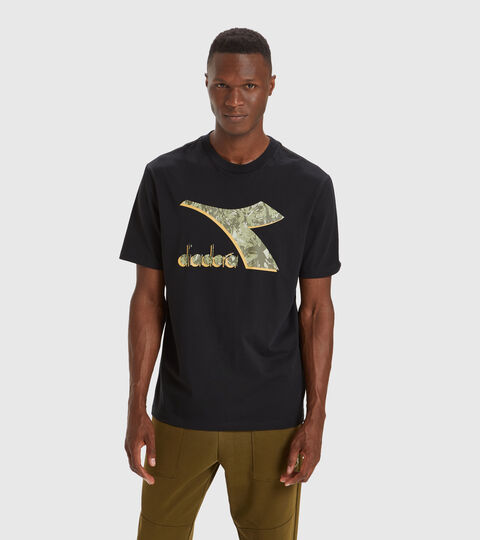 T-shirt - Men T-SHIRT SS SHIELD BLACK - Diadora