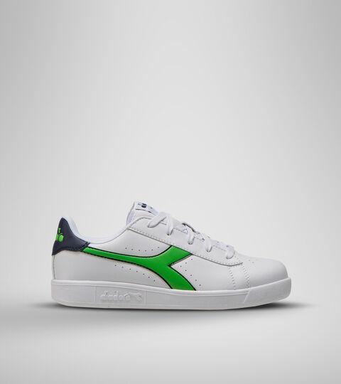 Footwear Sport BAMBINO GAME P GS BLCO/LIRIO NEGRO/VERDE CLASICO Diadora