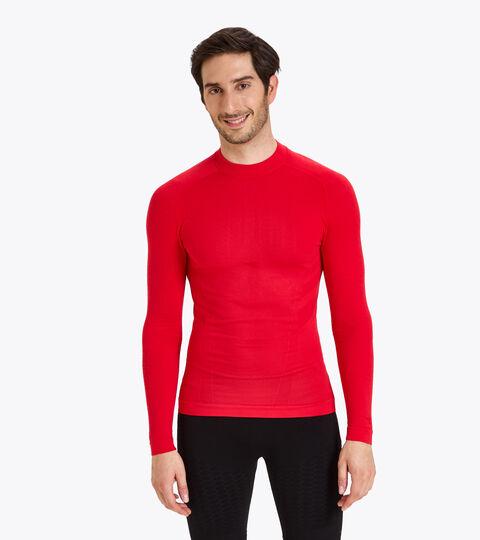 Long-sleeved training t-shirt - Men LS TURTLE NECK ACT LYCHEE - Diadora
