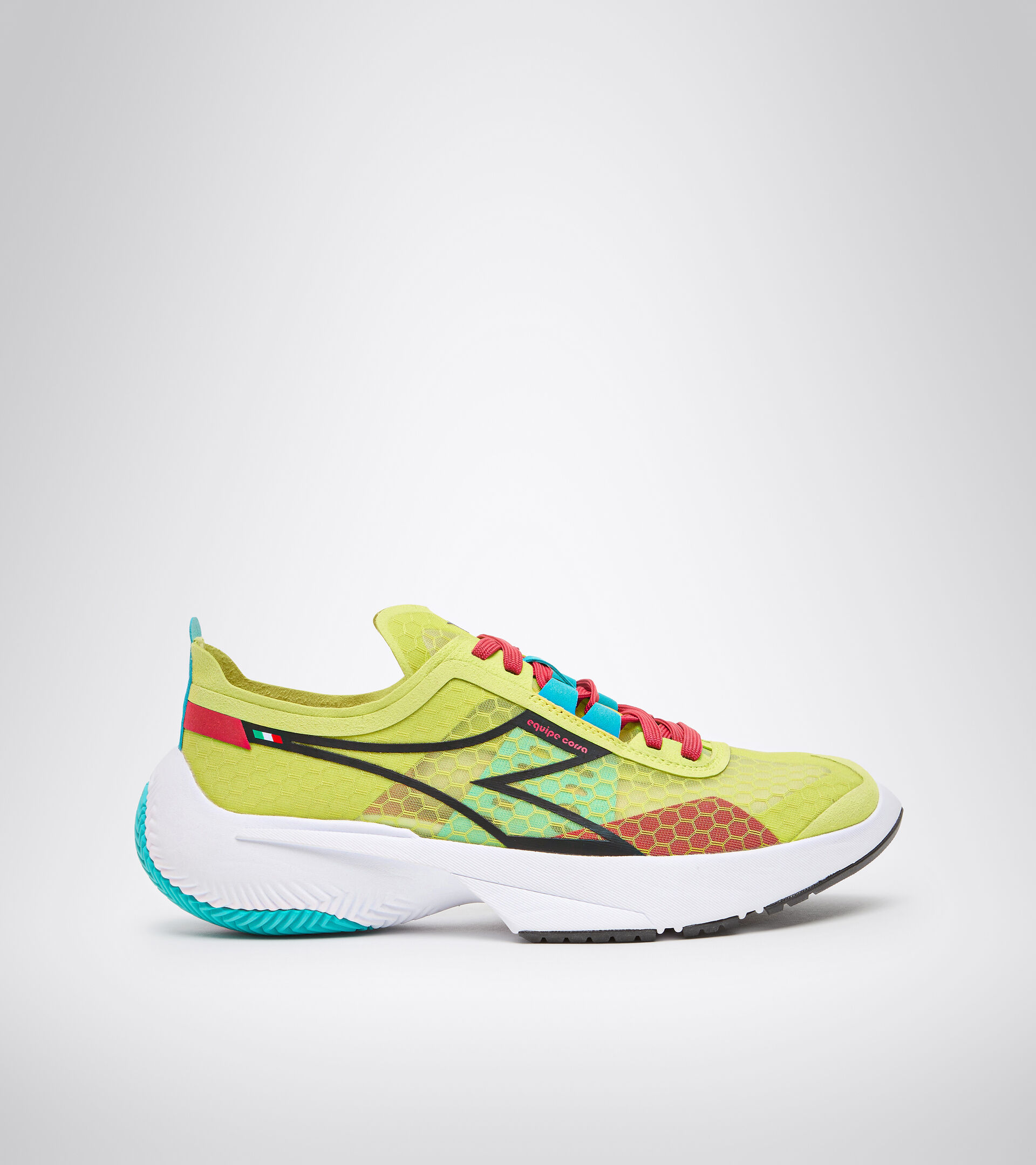 Footwear Sport UNISEX EQUIPE CORSA VERDE SORGENTE/NERO/BIANCO Diadora