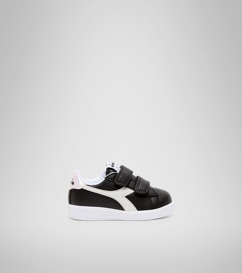 Sports shoes - Toddlers 1-4 years GAME P TD GIRL BLACK /WHITE - Diadora