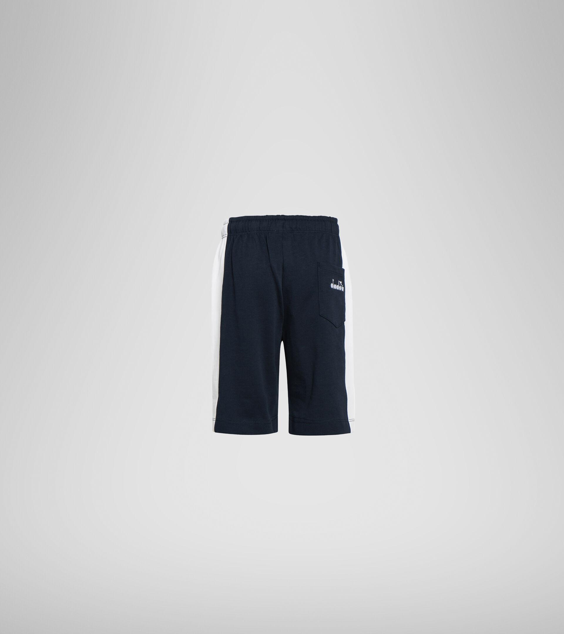 Bermuda shorts - Boys JB. BERMUDA DIADORA CLUB BLUE CORSAIR - Diadora