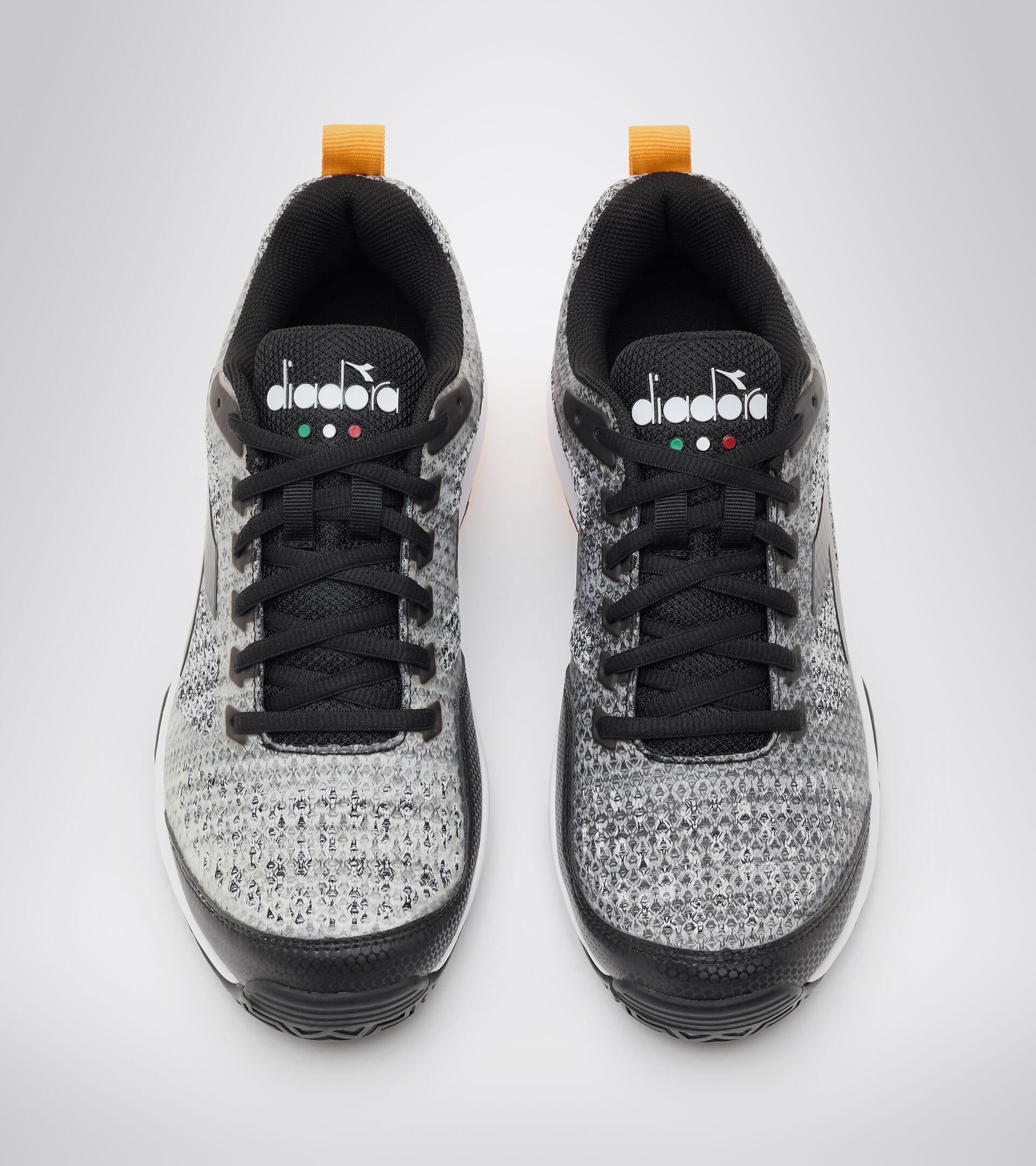 Footwear Sport UOMO S.SHOT 2 CLAY GRIGIO ACCIAIO/NERO/BIANCO Diadora