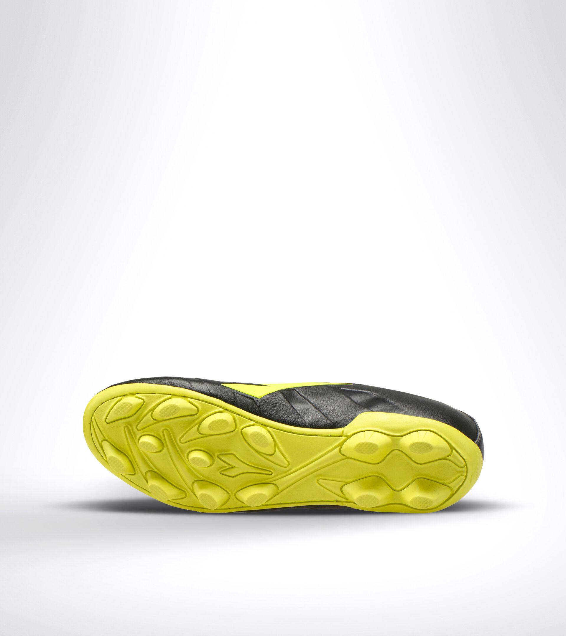 Footwear Sport UOMO PICHICHI 3 MD BLACK/FLUO YELLOW DIADORA Diadora
