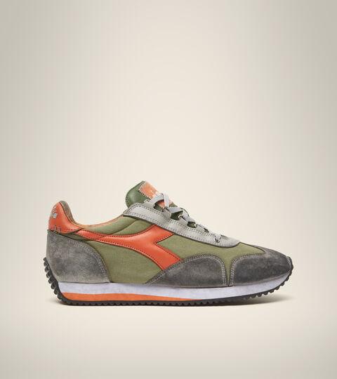 Footwear Heritage UNISEX EQUIPE H DIRTY STONE WASH EVO VERDE LODEN Diadora