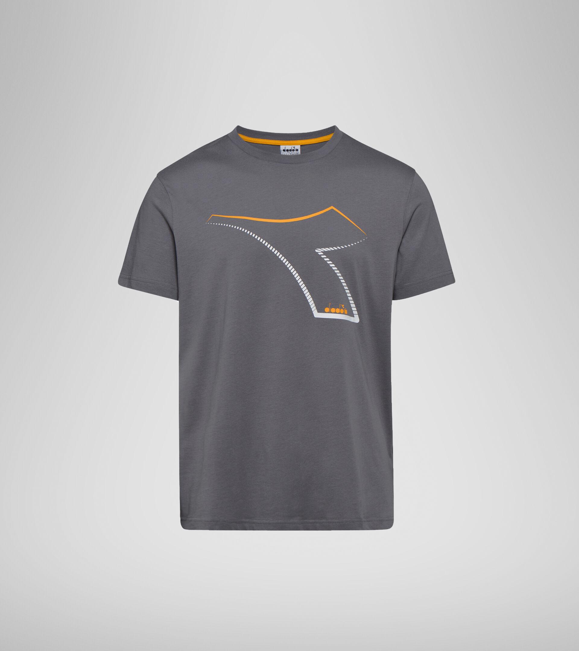 T-shirt - Men T-SHIRT SS FREGIO CLUB STORM GRAY  (75069) - Diadora