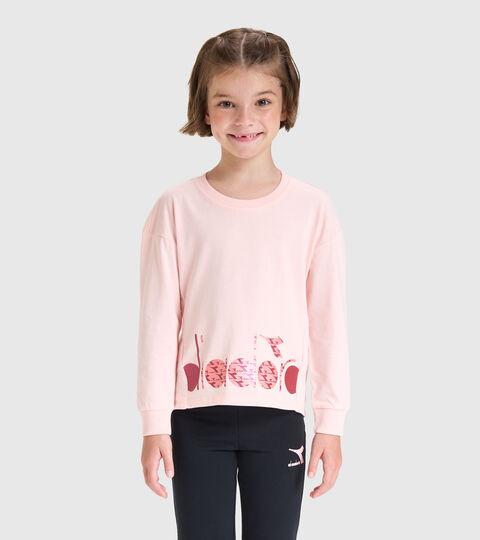 T-shirt a manica lunga - Bambina JG.T-SHIRT LS TWINKLE ROSA VELATO - Diadora